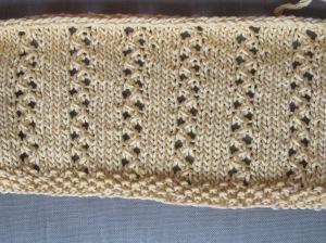 4 stitch eyelet column