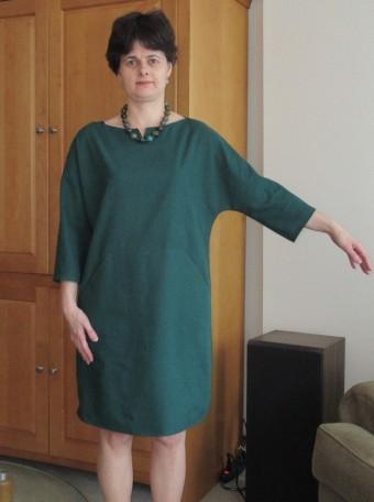 sack dress sleeve